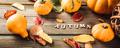 Autumn pumpkin thanksgiving background - PhotoDune Item for Sale