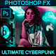 Ultimate Cyberpunk - Photoshop Action - GraphicRiver Item for Sale
