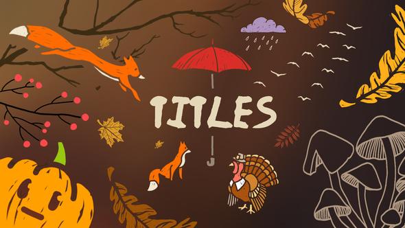 Autumn Lyric Titles