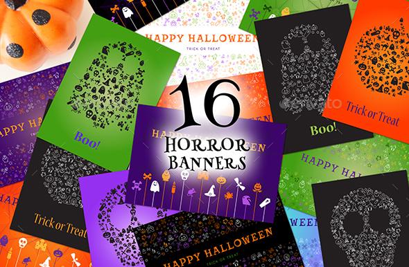 Halloween Greetings Pack