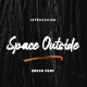 Space Outside Brush Font - GraphicRiver Item for Sale
