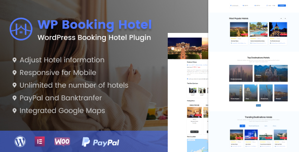 WordPress Booking Hotel