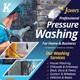 Pressure Washing Services Flyer Templates - GraphicRiver Item for Sale