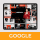 New Normal Googleslide Template - GraphicRiver Item for Sale