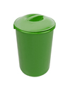 Green trash can isolated on white background - PhotoDune Item for Sale