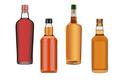 bottles of whiskies, cognac and wine - PhotoDune Item for Sale