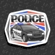 Vector Logo for Police Car - GraphicRiver Item for Sale