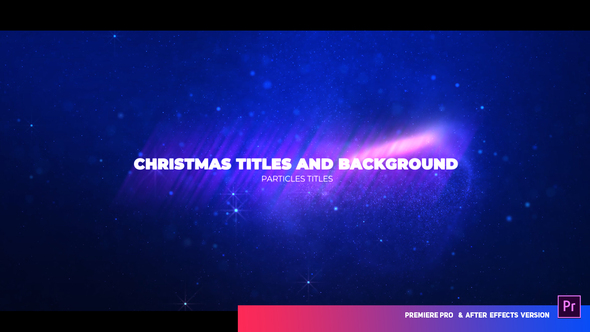 Christmas Opener With Particles