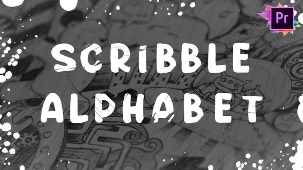 Scribble Alphabet | Premiere Pro MOGRT