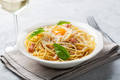 Italian pasta carbonara, close up - PhotoDune Item for Sale