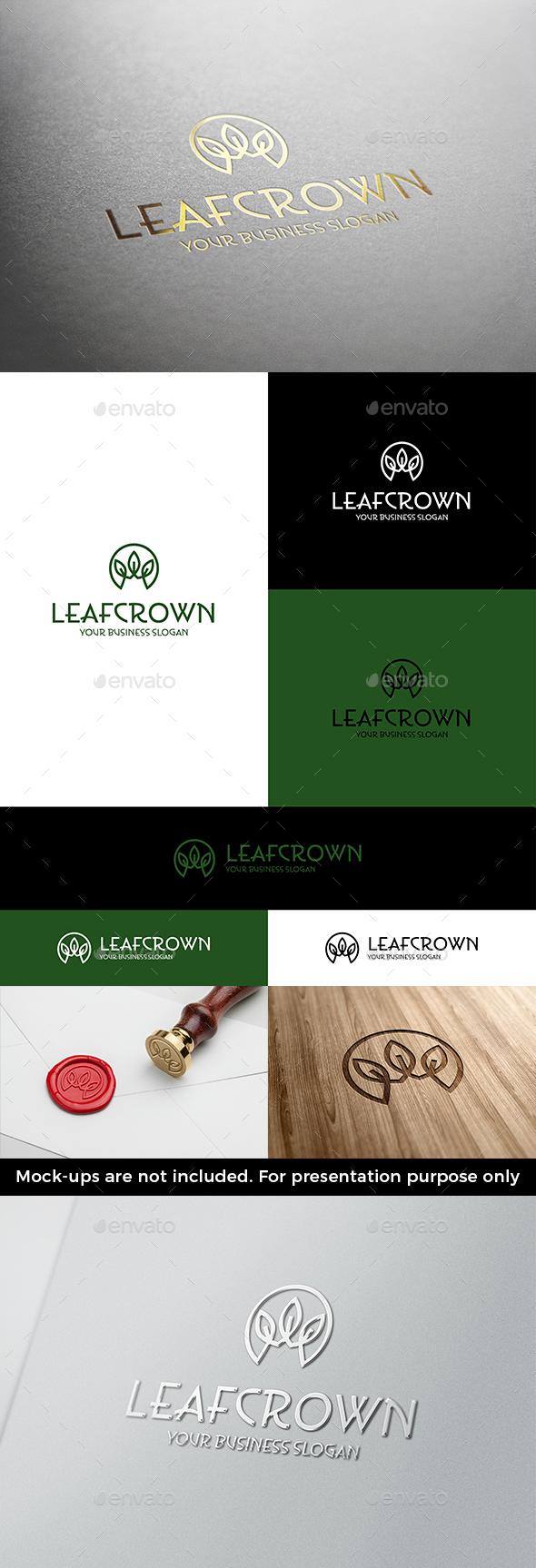 Leaf Crown Logo