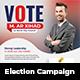 Political Vote Election Campaign Flyer Template - GraphicRiver Item for Sale