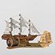 Sailing_ship - 3DOcean Item for Sale