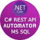 MS SQL to .Net Core Rest API Generator + JWT Auth + Swagger + Postman - CodeCanyon Item for Sale