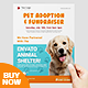 Pet Adoption Sevice Flyer Template - GraphicRiver Item for Sale