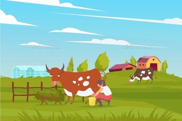 Milk Maid Farming Composition