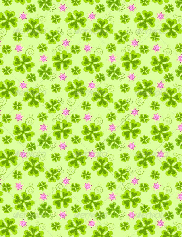 Saint Patrick's Day Seamless Pattern
