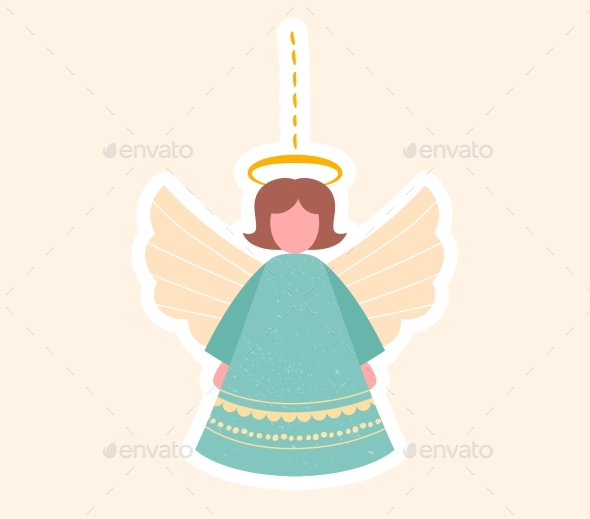 Pretty Little Angel Christmas Toy for the Tree