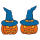 Witch Pumpkins Halloween - GraphicRiver Item for Sale
