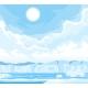 Winter Arctic Ice Landscape - GraphicRiver Item for Sale