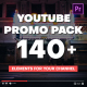 YouTube Promo Pack - Mogrt - VideoHive Item for Sale