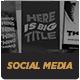 Dimension Social Media Templates - GraphicRiver Item for Sale