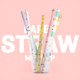 Paper Straw 3D Mockup - GraphicRiver Item for Sale