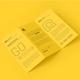 A4 Z Fold Brochure Mockup - GraphicRiver Item for Sale