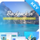 Backpack.in – Creative Travel Keynote Presentation Template - GraphicRiver Item for Sale