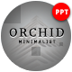 Orchid Minimalist Presentation Template - GraphicRiver Item for Sale