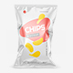 Glossy Snack Package Mockup - Front View - GraphicRiver Item for Sale