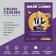 Kids Online Classes Flyer - GraphicRiver Item for Sale
