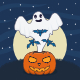 Ghost Pumpkins Halloween - GraphicRiver Item for Sale