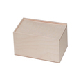 A empty wooden box isolated on white - PhotoDune Item for Sale