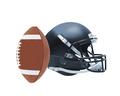 Football helmet isolated over white background - PhotoDune Item for Sale