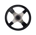 Steering wheel isolated on white - PhotoDune Item for Sale