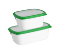 plastic container isolated on a white background - PhotoDune Item for Sale