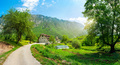 Road near monastery Dobrilovina - PhotoDune Item for Sale