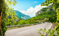 Winding road in the mountains - PhotoDune Item for Sale