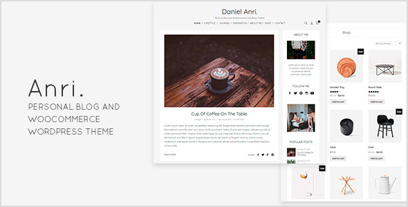 Review: Anri   - Personal Blog and WooCommerce WordPress Theme free download Review: Anri   - Personal Blog and WooCommerce WordPress Theme nulled Review: Anri   - Personal Blog and WooCommerce WordPress Theme