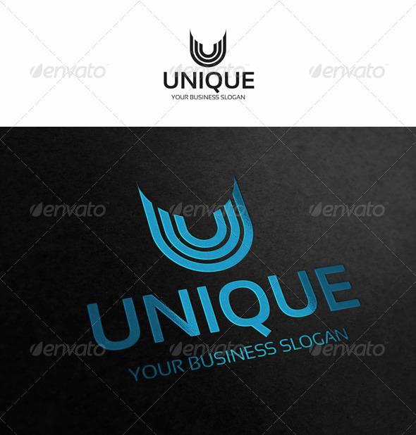 U - Letter Logo