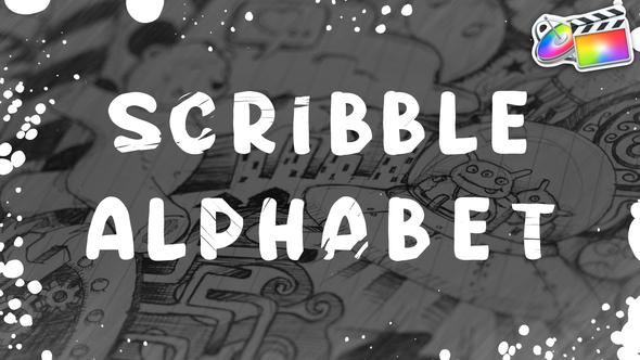 Scribble Alphabet | FCPX