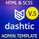 Dashtic - HTML Admin Template - ThemeForest Item for Sale