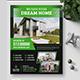 Real Estate Flyer V68 - GraphicRiver Item for Sale