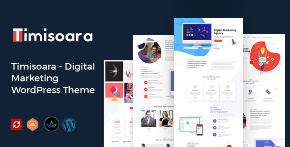 Timisoara - Digital Marketing WordPress Theme