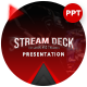 Stream Deck Gamers Streamers Presentation Template - GraphicRiver Item for Sale