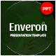 Enveron Nature Presentation Template - GraphicRiver Item for Sale