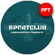 Sport Club Presentation Template - GraphicRiver Item for Sale