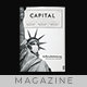 Capital Magazine - 40 Pages Indesign Template - GraphicRiver Item for Sale