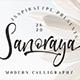 Sanoraya - GraphicRiver Item for Sale